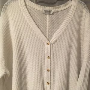 Urban Outfitters Waffle Henley